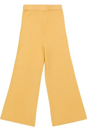 MORLEY Girls Formal Trousers - Ona ribbed-knit wool pants