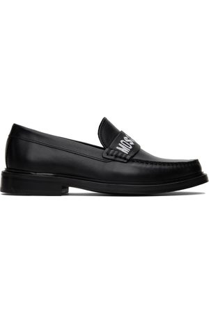 Moschino Men Loafers - Embroidered Loafers