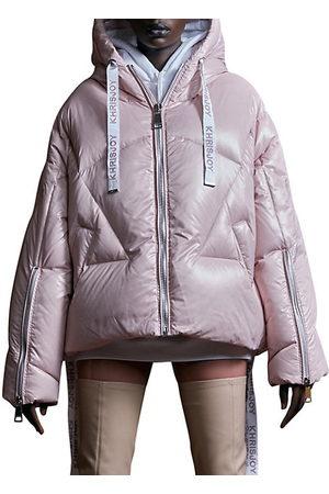 Khrisjoy Women Parkas - Khris Iconic Shiny Puffer Jacket
