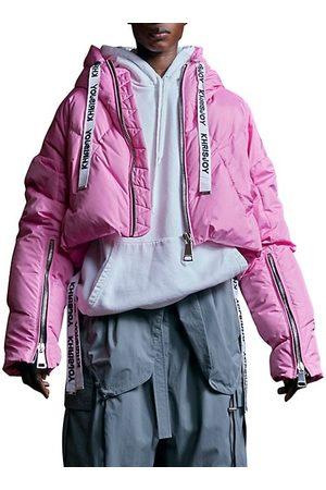 Khrisjoy Women Parkas - Khris Cropped Puffer Jacket