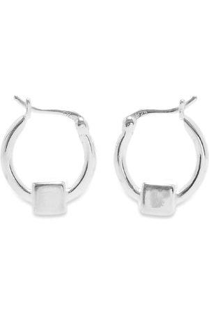 Hatton Labs Men Earrings - Cube Hoop Earring