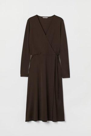 H&M Women Casual Dresses - Jersey wrap dress