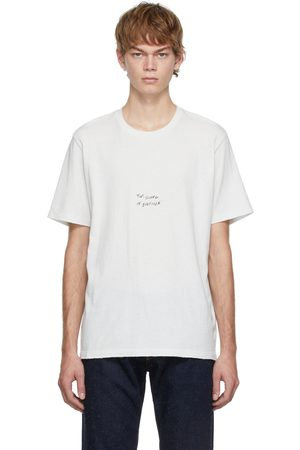 Saint Laurent Off- 'The Sound of Silence' T-Shirt