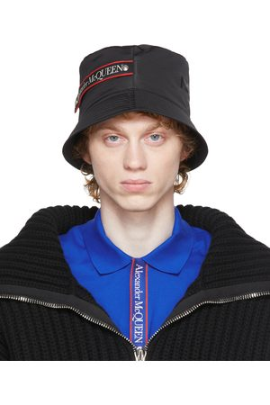 Alexander McQueen Graffiti Logo Bucket Hat