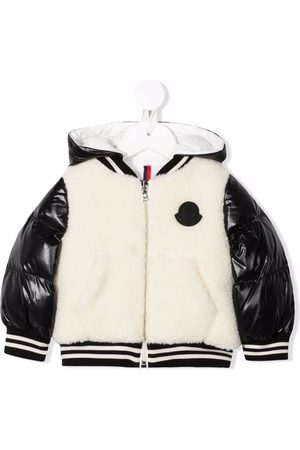 Moncler Bomber Jackets - Hooded bomber jacket