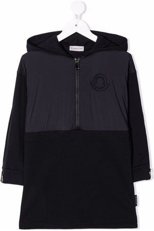 Moncler Zip-up hooded dress