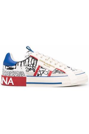 Dolce & Gabbana Men Sneakers - Custom 2.Zero low-top sneakers