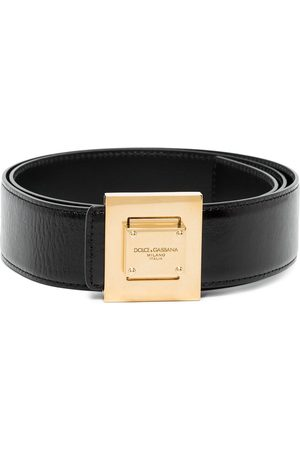 Dolce & Gabbana Men Belts - Square buckle belt