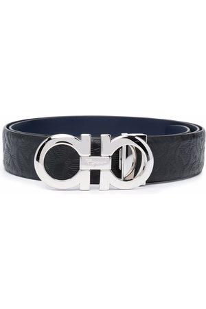 Salvatore Ferragamo Men Belts - Gancini logo belt