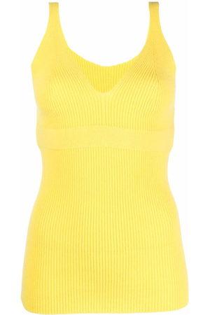 AMI AMALIA Women Vests - Ribbed knit vest top