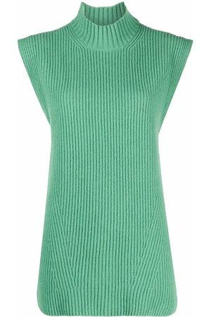 ERIKA CAVALLINI Women Tank Tops - Sleeveless knit top