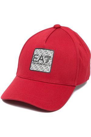 EA7 Logo-patch cotton cap