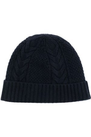 N.PEAL Cable-knit organic-cashmere beanie