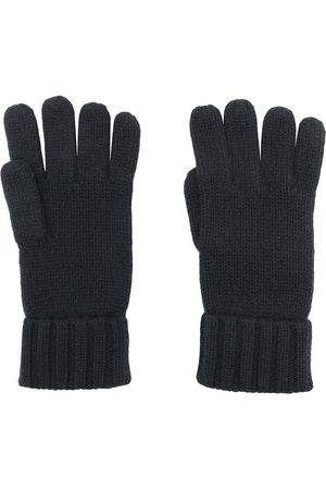 N.PEAL Gloves - Chunky-knit organic-cashmere gloves