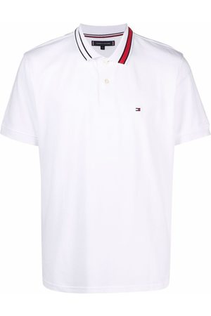 Tommy Hilfiger Contrast-collar polo shirt