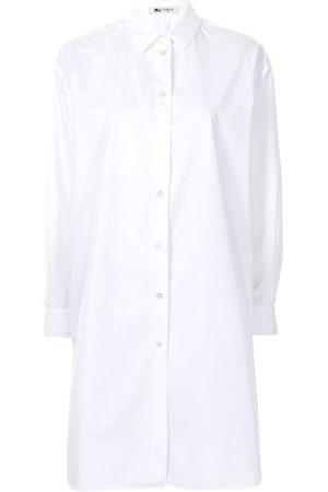 PORTS 1961 Pleated back longline shirt