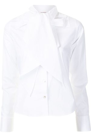 Antonio Marras Neck bow shirt