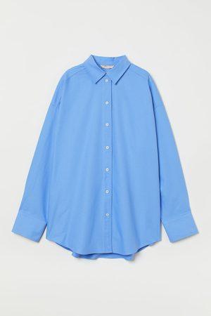 H&M Women Long Sleeve - Oversized cotton shirt