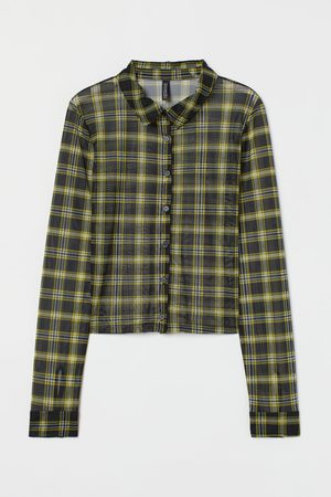 H&M Women Long Sleeve - Mesh shirt