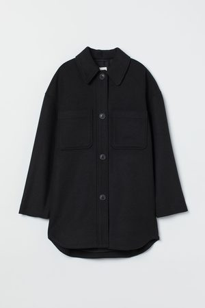 H&M Women Shirts - Oversized shirt jacket