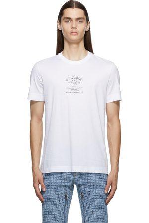 Givenchy Men Short Sleeve - Slim Fit Crest T-Shirt