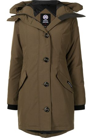 Canada Goose Rossclair hooded parka coat
