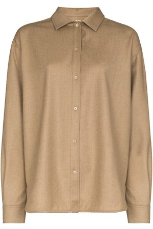 Totême Dropped shoulders flannel shirt