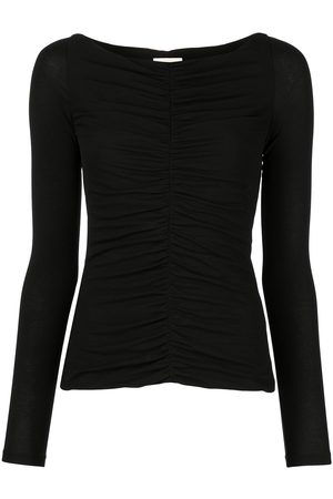 Khaite The Lance ruched-detail top