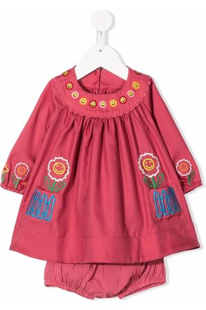 Stella McCartney Baby Casual Dresses - Embroidered-happy flowers dress