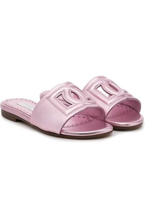 Dolce & Gabbana Logo sandals
