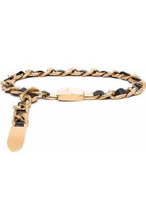 Balmain Women Belts - Leather chain belt