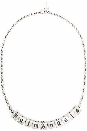 Palm Angels Men Necklaces - Dice logo necklace