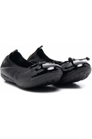 Geox High-shine ballerina shoes
