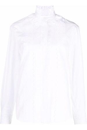 Paco rabanne Women Long Sleeve - Ruffled shirt