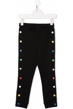 Stella McCartney Girls Trousers - Multicolour buttoned trousers
