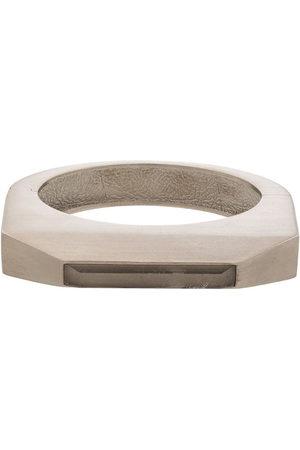 Rick Owens Men Bangles - Crystal-embellished bangle bracelet