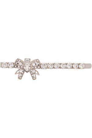 Miu Miu Women Hair Accessories - Crystal embellished hair clip