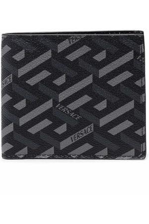 VERSACE La Greca pattern cardholder