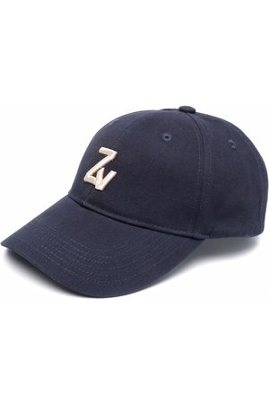 Zadig & Voltaire Men Hats - Klelia intial-embroidered cap