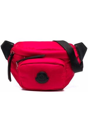 Moncler Logo-patch zip-up belt bag