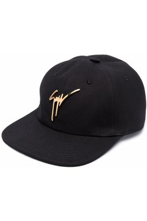 Giuseppe Zanotti Men Hats - Logo-plaque baseball cap