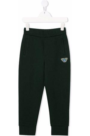Emporio Armani Boys Trousers - Logo track trousers