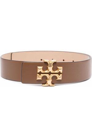 Tory Burch Women Belts - Eleanor buckled leather belt