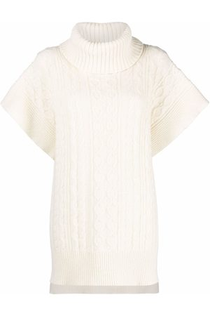 See by Chloé Women Short Sleeve - Cable-knit short-sleeve jumper