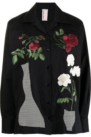 Antonio Marras Women Long Sleeve - Vase-embroidered shirt