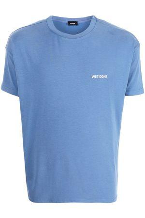 We11 Done Oversized logo-print jersey T-shirt