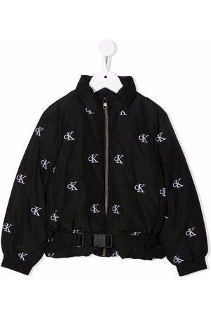Calvin Klein Logo-print padded jacket