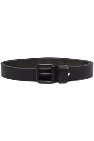 Paolo Pecora Leather buckle belt