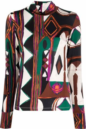 Colville Women Tops - Abstract print jersey top