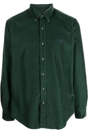 Polo Ralph Lauren Embroidered-logo cotton shirt